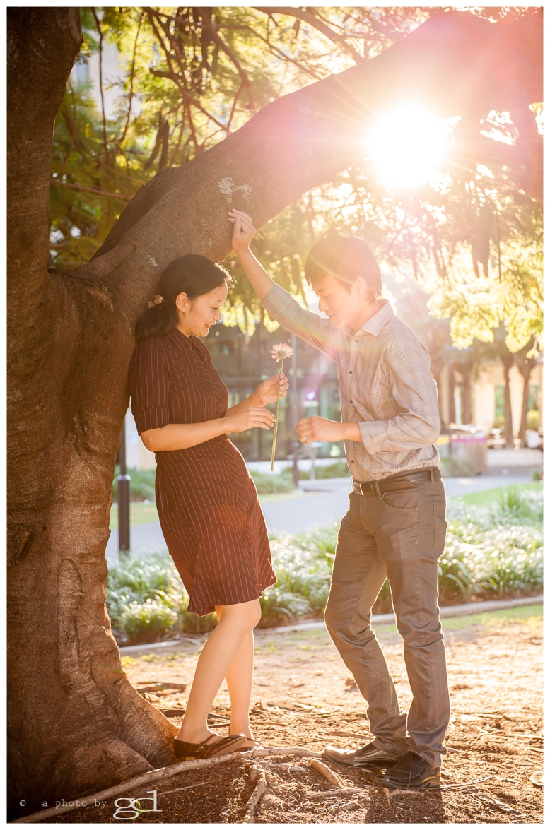 Engagement photography UQ