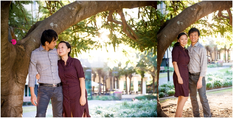 Engagement photographer UQ