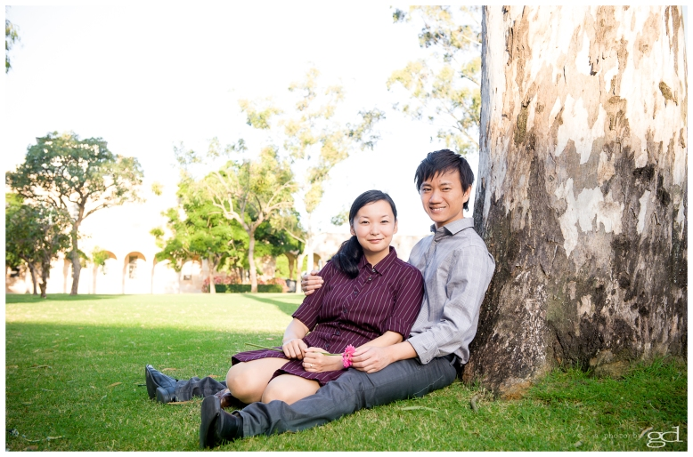a photo by gd Engagement Session UQ
